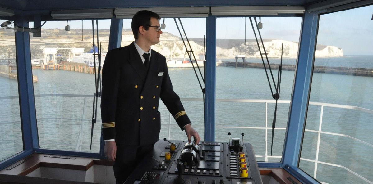 ENSM - Capitaine à la passerelle