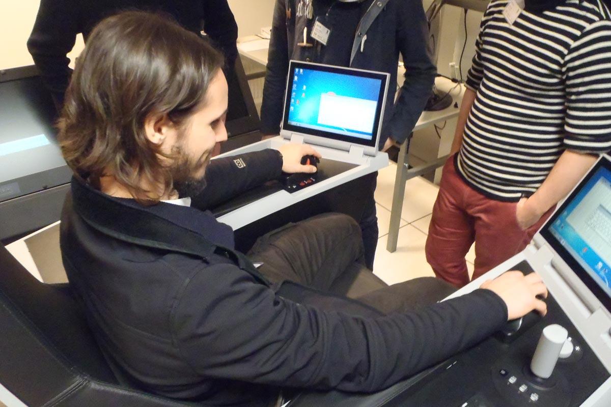 projet norvege 2016 ensm eleve sur simulateur
