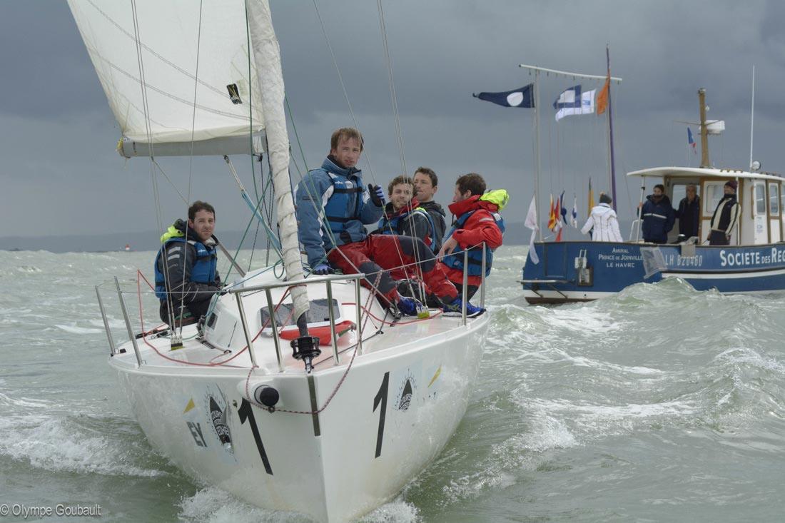 Hydro's Cup Le Havre - Equipage en course