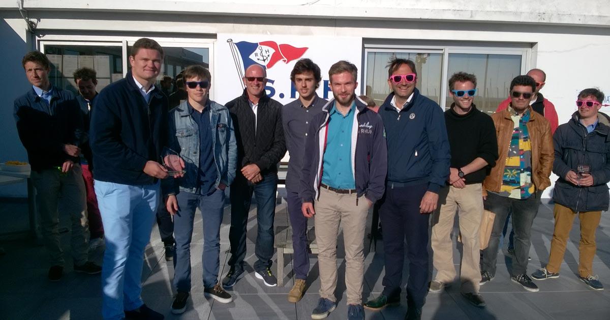 Hydro's Cup Le Havre - Remise des prix en présence de M. Larrieu