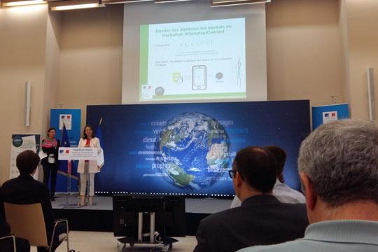 Conférence de Ségolène Royal sur Green Tech Ecoles