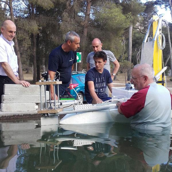 HydroTech réalises ses premiers essais dans le bassin ENSM à Marseille