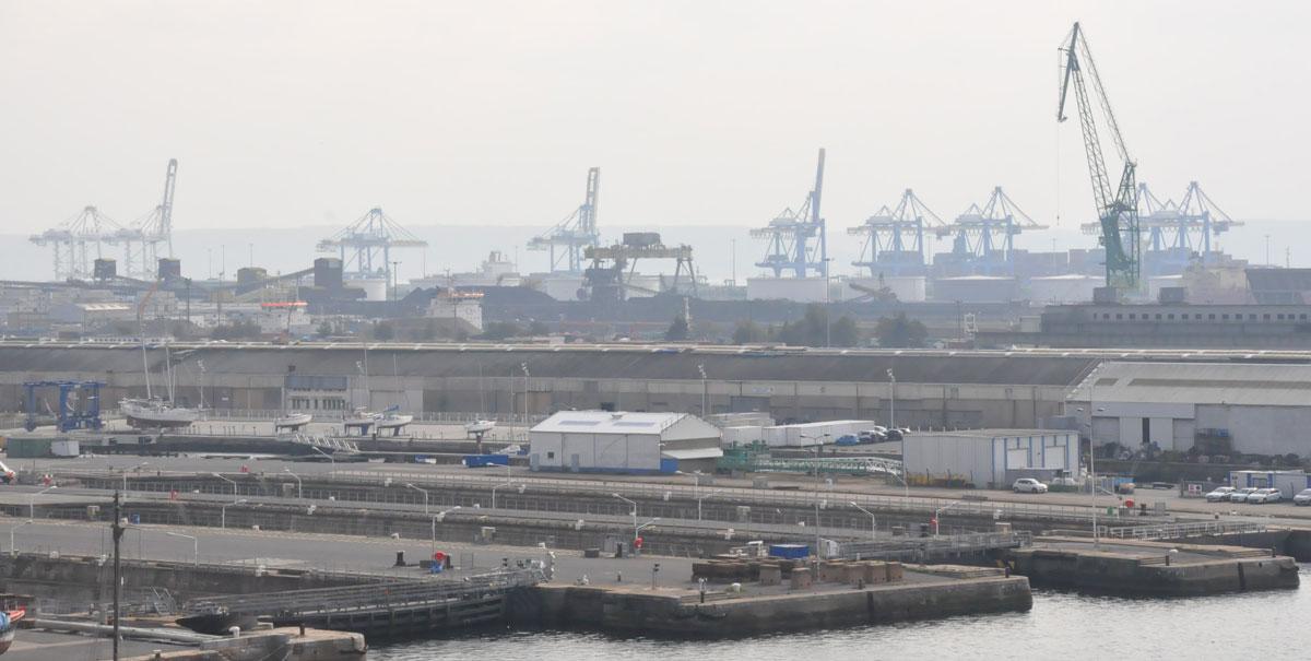 Port industriel du Havre - Quai Frissard