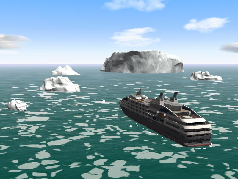 Ice navigation simulator on marseille campus