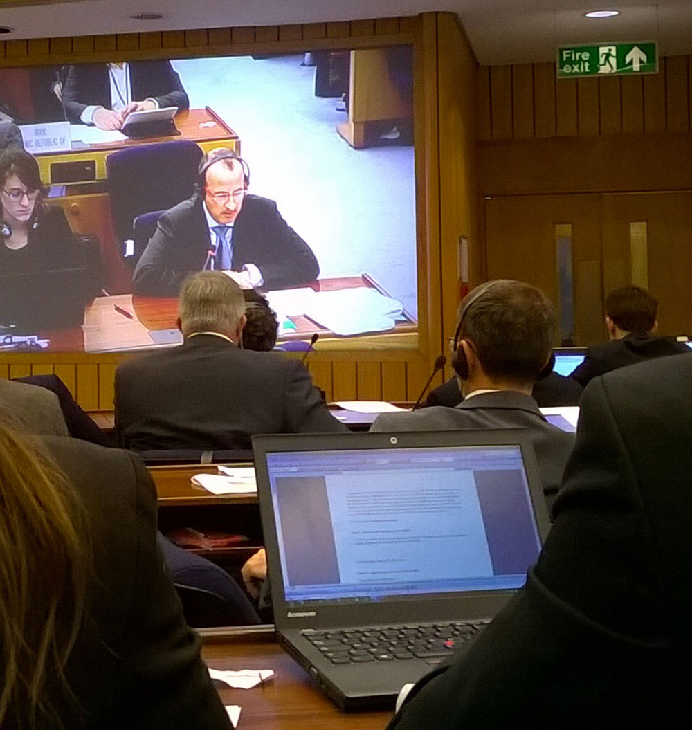 Hervé Baudu on audit, at the IMO