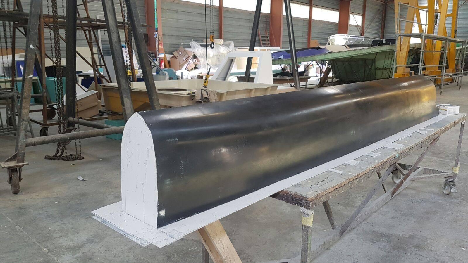 Construction de la coque lourde