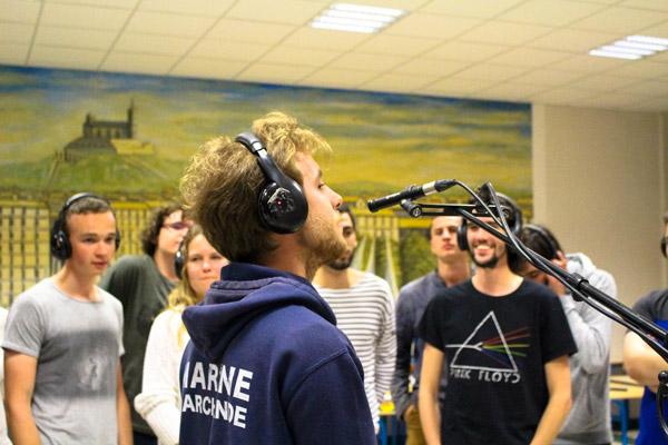 Enregistrement d'HydroSound - CD de la chorale des élèves ENSM