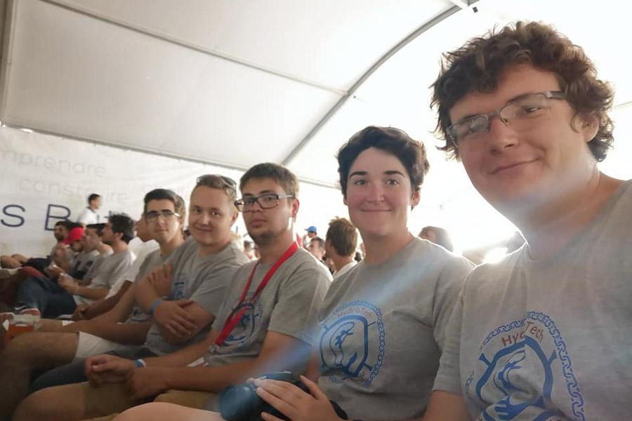 Équipe HydroTech 2018 à HydroContest