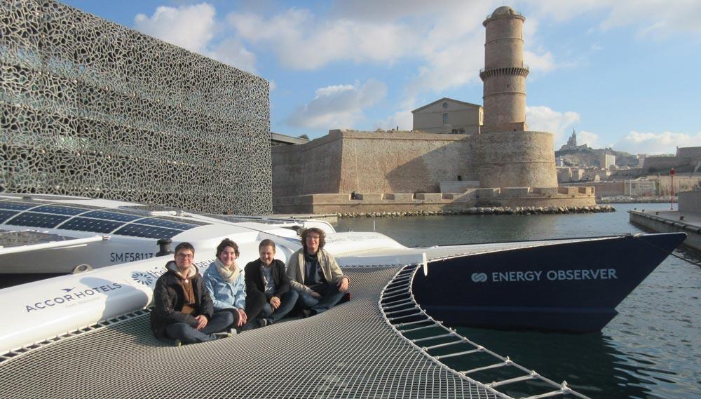 HydroTech à bord de l'Energy Observer