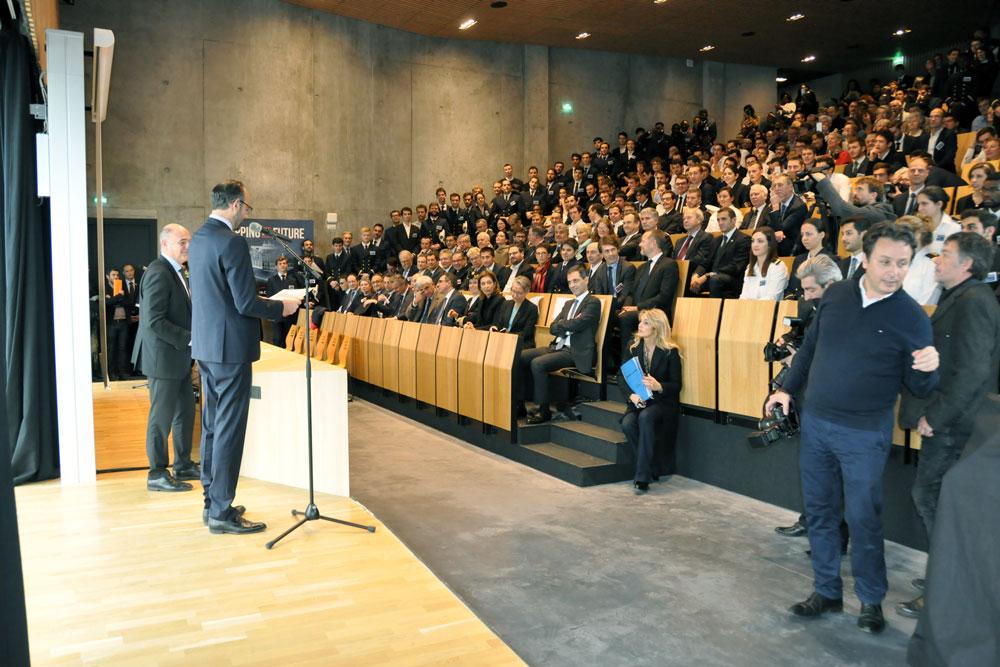 Edouard Philippe's Speech - ENSM
